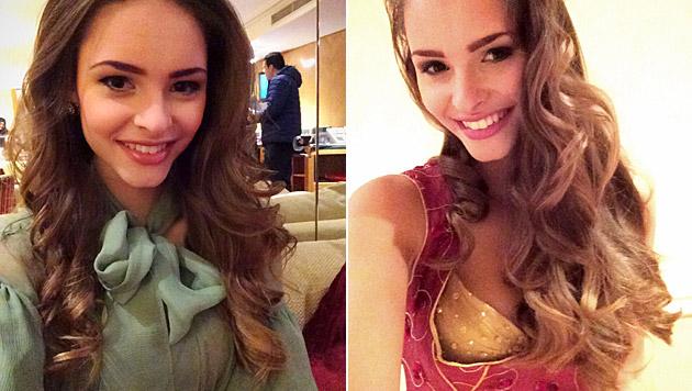 Julias Haare bekommen in London viel Bewunderung. (Bild: Julia Furdea)