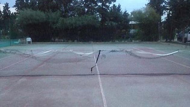 Der Trainingsplatz des ITF-Turniers im tunesischen Sousse (Bild: twitter.com)