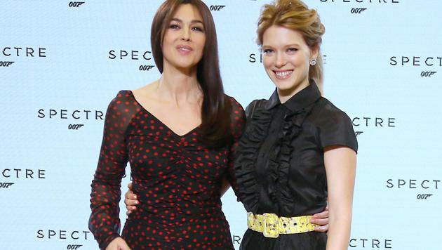 Monica Bellucci und Lea Seydoux (Bild: AP)