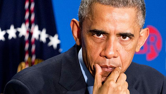 Obama will Vergeltung für russische Hackerangriffe (Bild: AP)