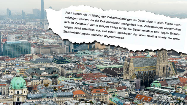 """39.000-Euro-Prämien für Manager der Wien-Holding (Bild: APA/HERBERT NEUBAUER, """"Krone"""")"""