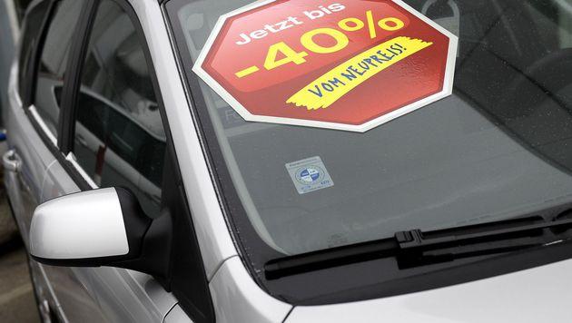 Oberösterreicherin bei Autokauf im Netz betrogen (Bild: APA/Barbara Gindl)