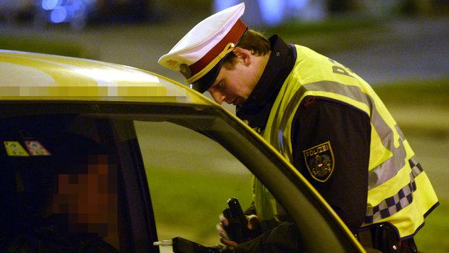 Schwerpunktaktion in Wien: Einbrecher im Visier (Bild: APA/HANS KLAUS TECHT)