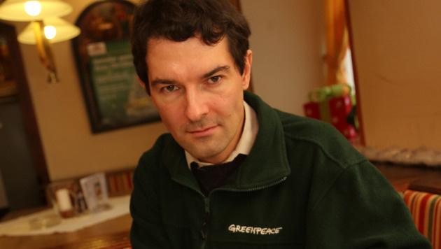 Greenpeace-Experte Herwig Schuster (Bild: Uta Rojsek-Wiedergut)