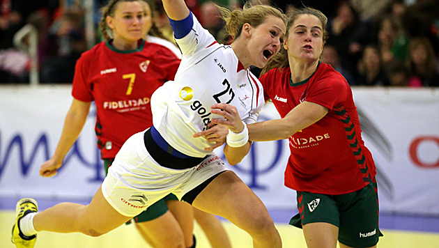 ÖHB-Damen nach Sieg über Türkei im Play-off (Bild: GEPA)