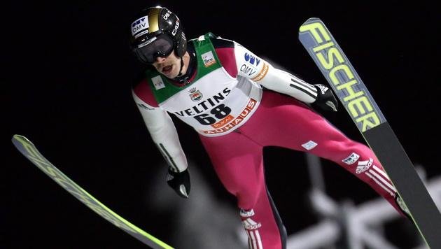 Koudelka-Sieg in Lillehammer, Hayböck Dritter (Bild: APA/EPA/GRZEGORZ MOMOT)