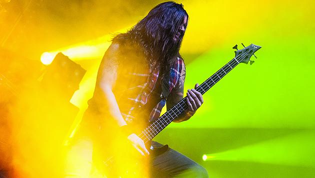 Metalcore-Express rüttelte an der Besinnlichkeit (Bild: Andreas Graf)