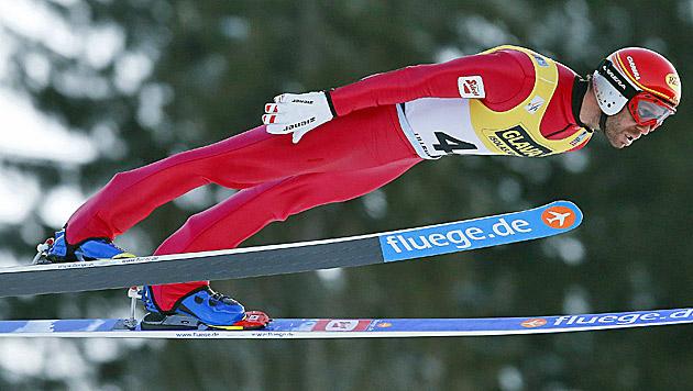 ÖSV-Team in Lillehammer wieder zurück (Bild: APA/EPA/CORNELIUS POPPE)