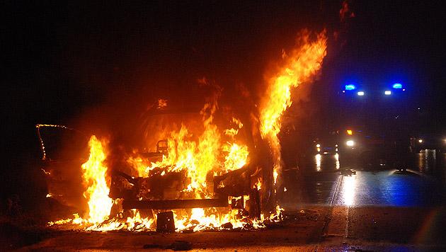 Vater rettet seine Kinder vor dem Flammentod (Bild: Pressestelle BFK Mödling)