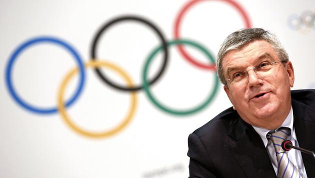 IOC-Präsident Thomas Bach (Bild: APA/EPA/SEBASTIEN NOGIER)