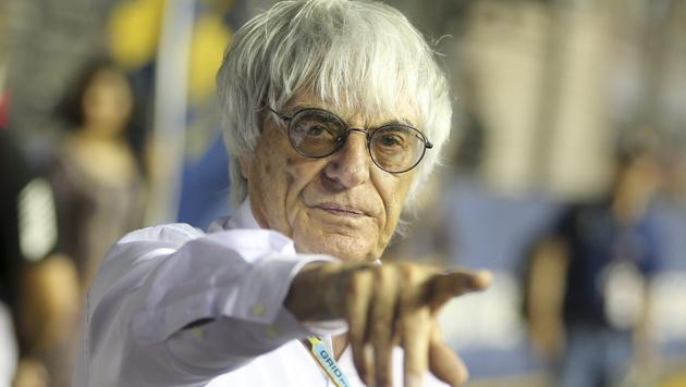 Jetzt geht Niki zu Bernie auf Konfrontationskurs! (Bild: APA/EPA/DIEGO AZUBEL)