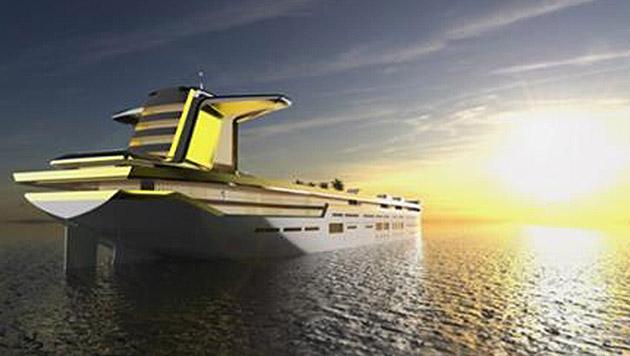 Österreicher planen die größte Luxusjacht der Welt (Bild: Facebook/Motion Code:Blue)