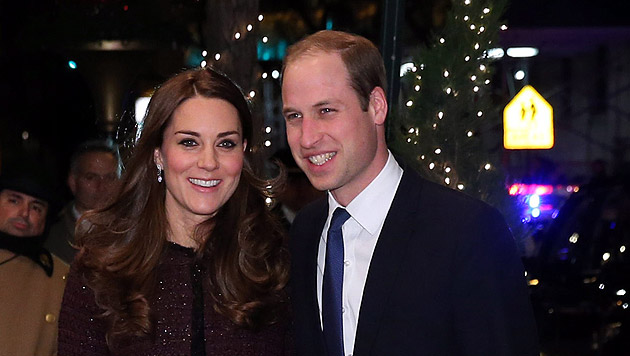 Kate und William (Bild: APA/EPA/Neilson Barnard/POOL)
