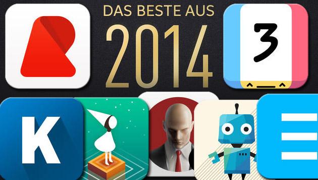 Apple kürt die besten Apps und Spiele des Jahres (Bild: apple.com, krone.at-Grafik)