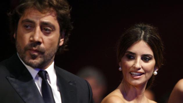 Penelope Cruz und Javier Bardem hielten ihre Hochzeit einen Monat lang geheim. (Bild: AP)