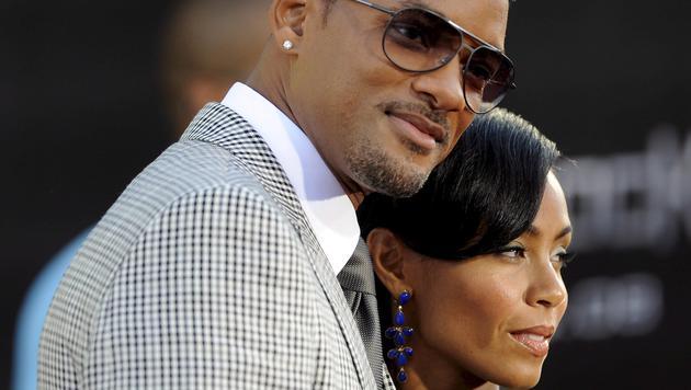 Auch Will Smith and Jada Pinkett Smith gelang es, heimlich zu heiraten. (Bild: EPA)