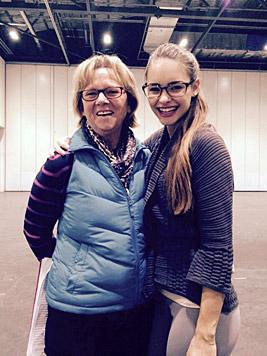 Julia und Teamleiterin Annette (Bild: Julia Furdea)