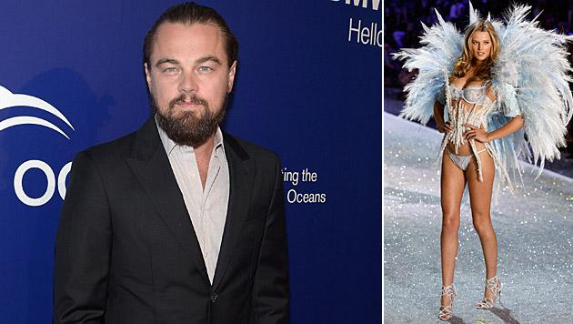 Nach dem Liebes-Aus mit Toni Garrn ließ es Leonardo DiCaprio ordentlich krachen. (Bild: AFP, JASON SZENES/EPA/picturedesk.com)