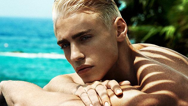 "Oliver Stummvoll ist ""Austria""s next Topmodel 2014"" (Bild: Kosmas Pavlos)"