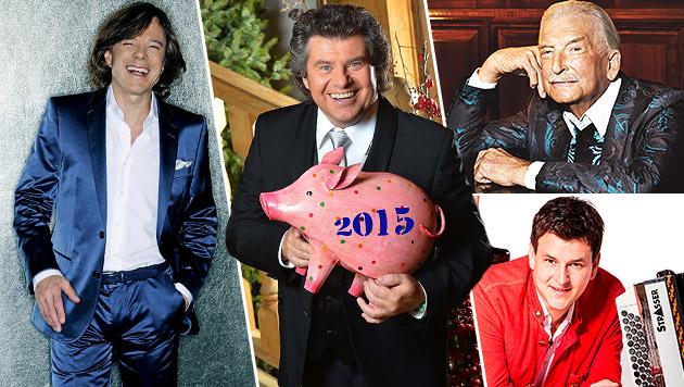 Rutschen Sie mit dem Silvesterstadl ins neue Jahr (Bild: ORF/KEKIC, Universal Music, Manfred Esser, Musikantenstadl)
