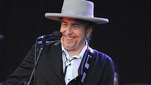Nobelpreis für Literatur an Musiklegende Bob Dylan (Bild: AFP)