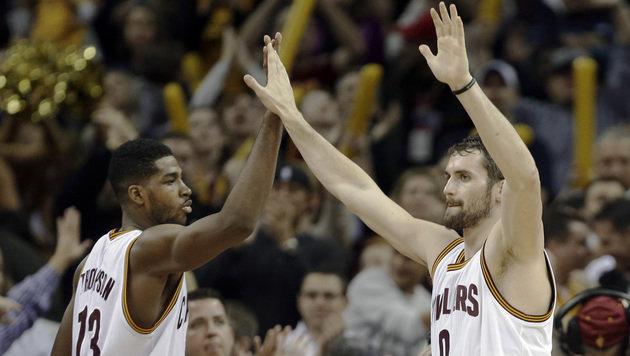 Cleveland Cavaliers feierten achten Sieg in Serie (Bild: AP)