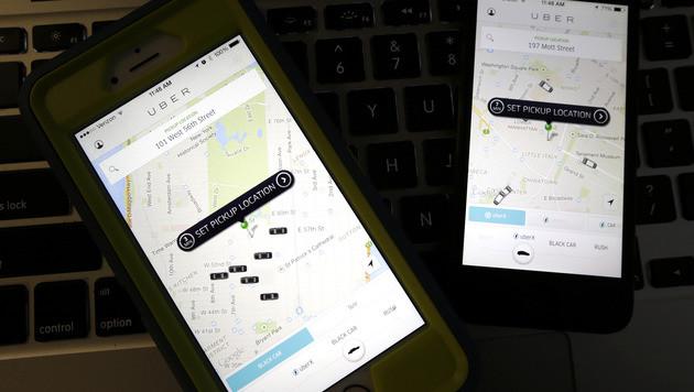 Daten von rund 50.000 Uber-Fahrern gestohlen (Bild: AP)