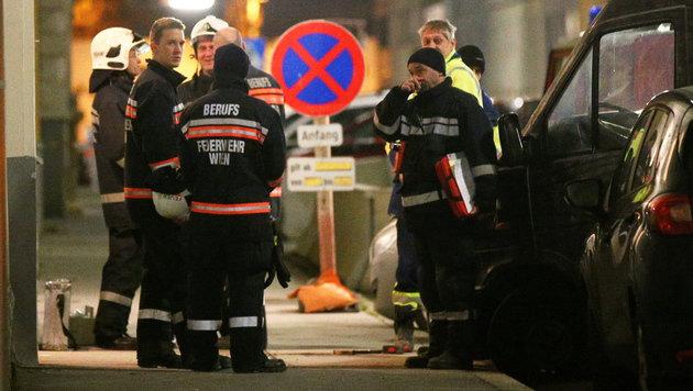 Erneut Einsturzgefahr in Wien: Haus evakuiert (Bild: APA/EXPA/THOMAS HAUMER)