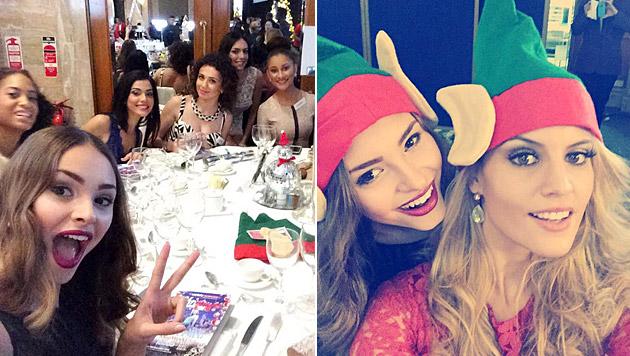 In London feierte Julia Furdea schon jetzt Weihnachten. (Bild: Julia Furdea)