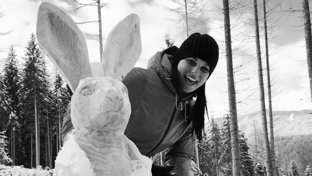 """""""Anna Fenninger ist Paul Scharner vom Skisport"""" (Bild: facebook.co m/Anna Fenninger)"""