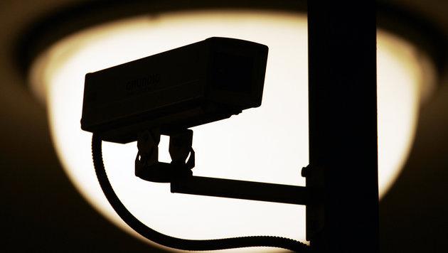 Hacker greifen mit gekaperten Security-Kameras an (Bild: dpa/Arno Burgi)