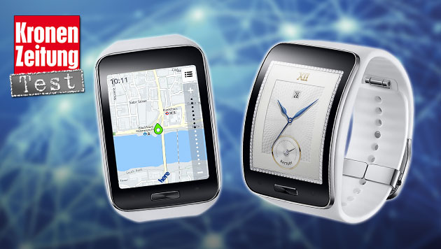 samsung gear s smartwatch mit sim aber kaum sinn krone. Black Bedroom Furniture Sets. Home Design Ideas