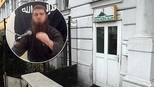 In dieser Wiener Moschee war Mirsad O. als Imam tätig. (Bild: Andi Schiel, Kronen Zeitung)