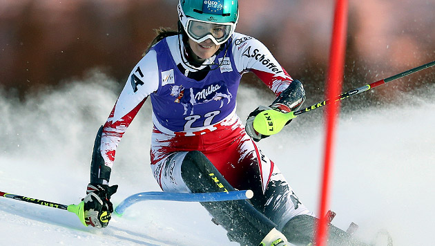 Ski-Schock: Carmen Thalmann erleidet Kreuzbandriss (Bild: GEPA)