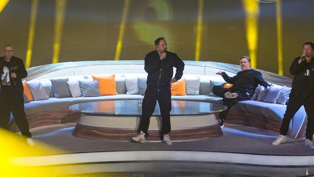 """Die Fantastischen Vier performten zu Beginn von """"Wetten, dass..?"""". (Bild: ZDF)"""