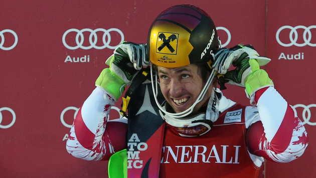 Hirscher gewinnt in Are & zieht mit Klammer gleich (Bild: GEPA)