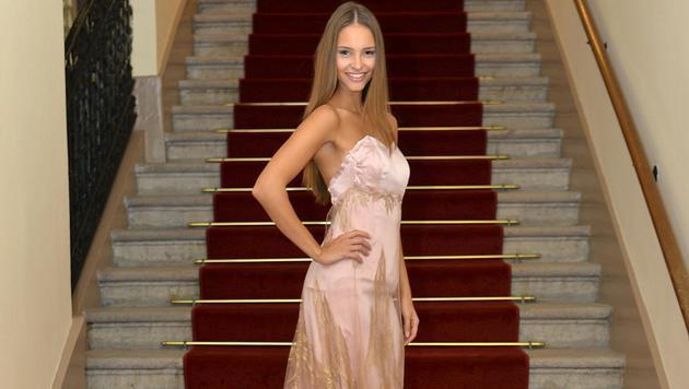 """Miss Austria"" Julia Furdea (Bild: APA/MAC)"