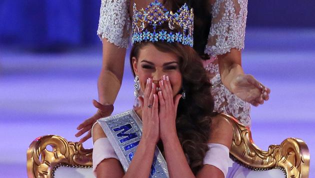 """Die neue """"Miss World"""", Rolene Strass (Bild: AP)"""