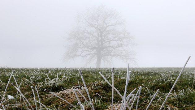 Wetter: Wenig Sonne und winterliche Temperaturen (Bild: APA/dpa/Stephan Jansen)