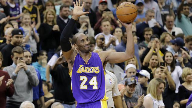 32.310 Punkte - Bryant besser als Jordan (Bild: AP)