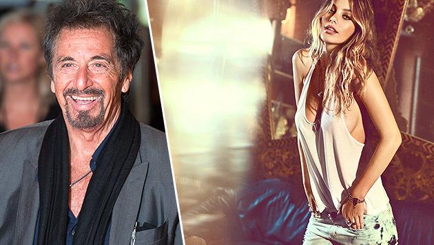 Al Pacinos Stieftochter ist ein heißer Feger (Bild: APA/EPA/WILL OLIVER, Ossira)