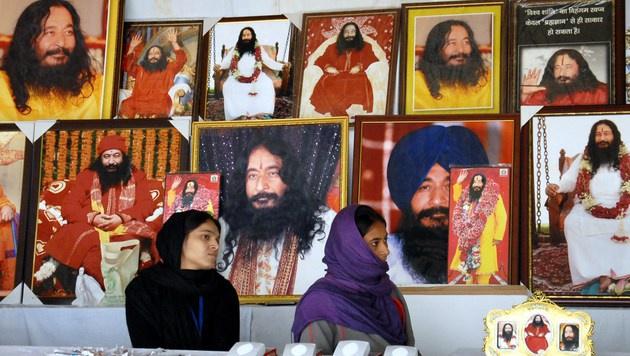 Anhänger dürfen toten Guru weiter tiefkühlen (Bild: AFP)