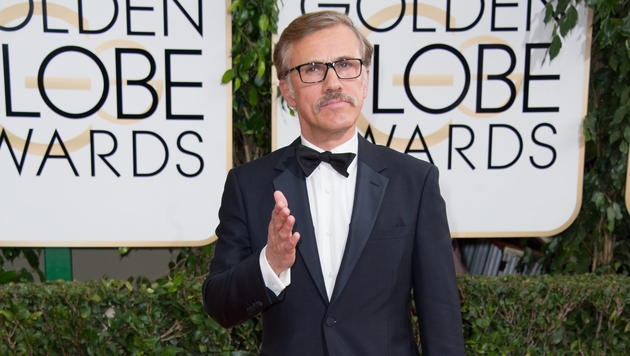 Christoph Waltz ist bereits zum dritten Mal bei den Golden Globes dabei und nominiert. (Bild: EPA)