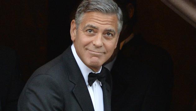 George Clooney lässt sich von schlechten Kritiken einschüchtern. (Bild: AFP)
