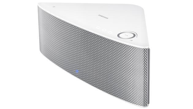 Macht ordentlich Krach, kostet aber auch 300 Euro: Samsungs M7-Netzwerkbox (Bild: Samsung)
