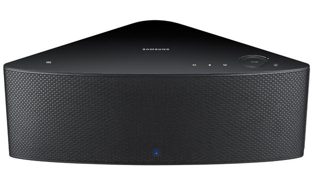 Samsungs M5-Netzwerkbox gibt sich im minimalistischen Design. (Bild: Samsung)