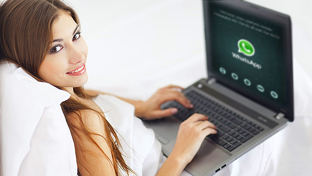 WhatsApp funktioniert nun auch auf dem PC (Bild: thinkstockphotos.de, WhatsApp, krone.at-Grafik)