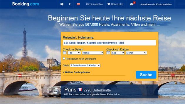 Aus für Bestpreisklausel beim Hotel-Buchen im Netz (Bild: booking.com)