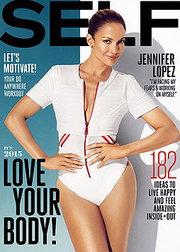 "Jenifer Lopez am ""Self""-Cover (Bild: Viennareport)"