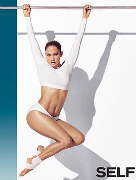 Jennifer Lopez hängt sich sportlich richtig rein. (Bild: Viennareport)